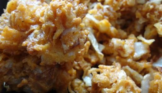 Cabbage Pakora/Fritters
