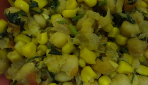 Chick Pea – Sweet Corn Chat