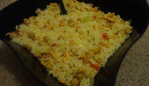 Chick Pea-Sev Rice