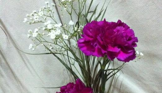 Floral arrangement and the Art