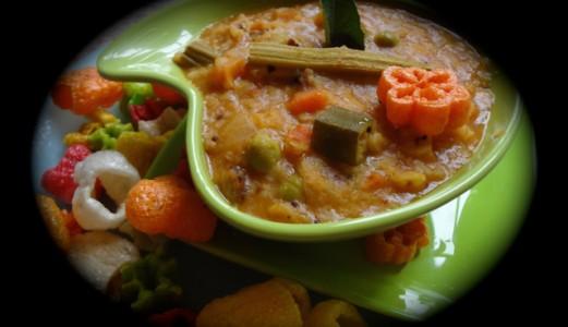 Bisibelabath/Sambar Rice/Sambar Sadam