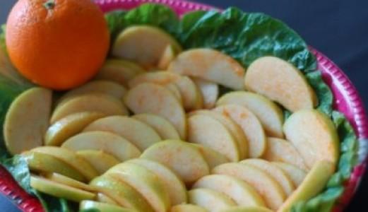 Orange Flavoured Green Apple salad