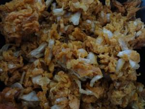 Crispy Cabbage Fritters/pakoras