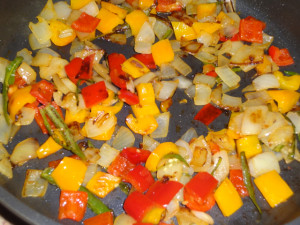 Stirr fry with sauces