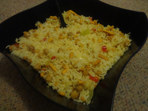 Chick Pea-Sev Rice