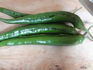 slit chillies