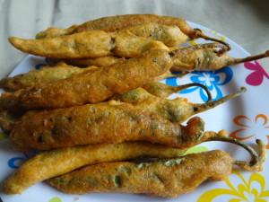 fried bhajia